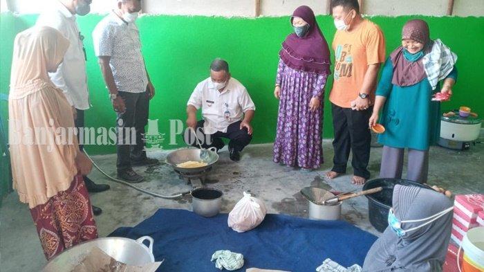 Himpunan Pengusaha Nahdliyin Kalsel dan PCNU Banjarbaru Buka Dapur Umum Bantu Warga Isoman