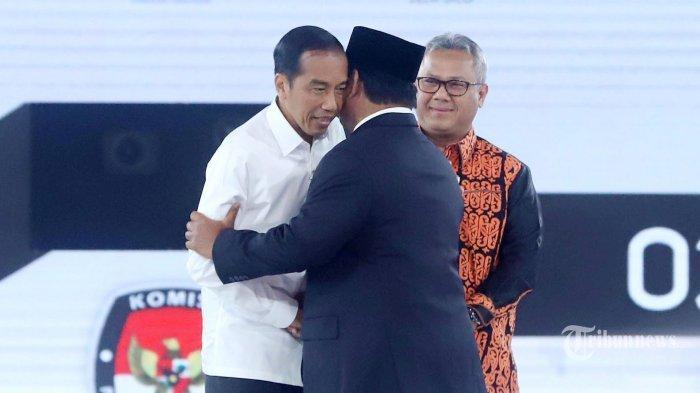 Hasil Real Count KPU Pilpres 2019 Rampung 100 %, Cek Perolehan Jokowi-Maruf Amin & Prabowo-Sandi