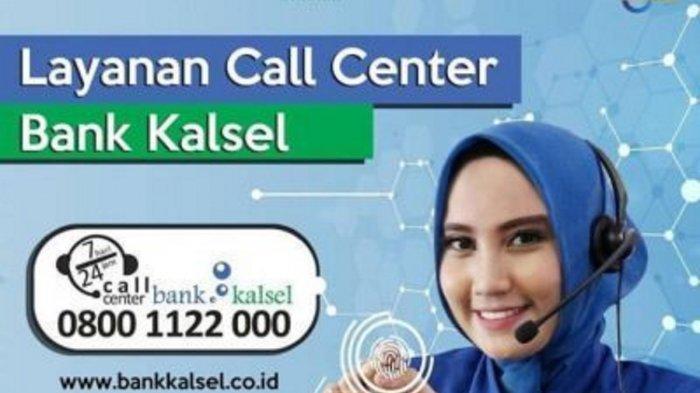 Memudahkan Masyarakat di Masa Pandemi, Bank Kalsel Berikan Layanan Call Center
