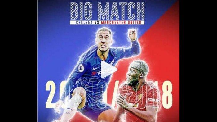 Live Beinsport 1! Cara Nonton Live Streaming Chelsea vs Manchester United Liga Inggris Pekan 9 di HP