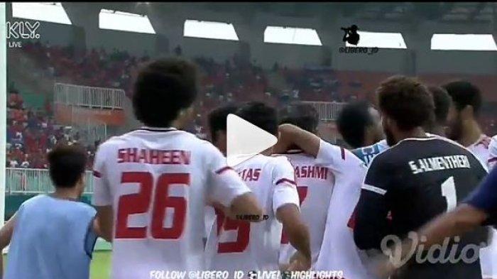 Hasil Uni Emirat Arab vs Taiwan Piala AFC U-19 2018 Babak Pertama, Taiwan Kebobolan 2 Gol