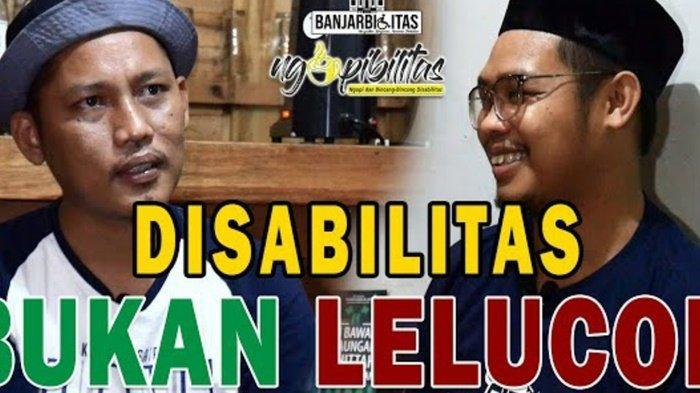 KalselPedia - Miliki Program Ngopibilitas, Banjarbilitas di Kalsel Angkat Isu Disabilitas