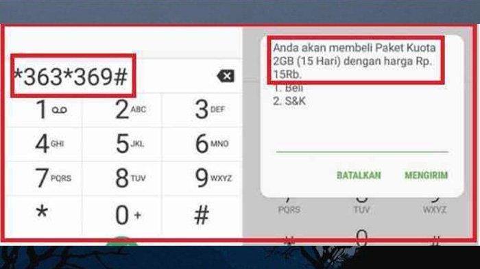 Kuota Internet Murah 6 GB, 12 GB, 20 GB Indosat, XL dan Telkomsel, Berikut Cara Akses Kode Dialnya