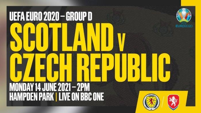 Cara Nonton Streaming TV Online Euro 2021 Skotlandia vs Ceko, Live Mola TV Lanjut Spanyol vs Swedia