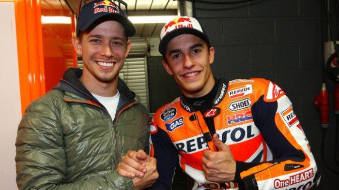 Marc Marquez Enggan Casey Stoner Bergabung dengan Honda, Pebalap Utama?