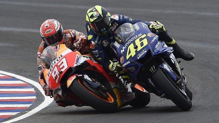 LINK Streaming Trans 7 Race MotoGP Catalunya 2021, Starting Grid Rossi di Depan Marquez