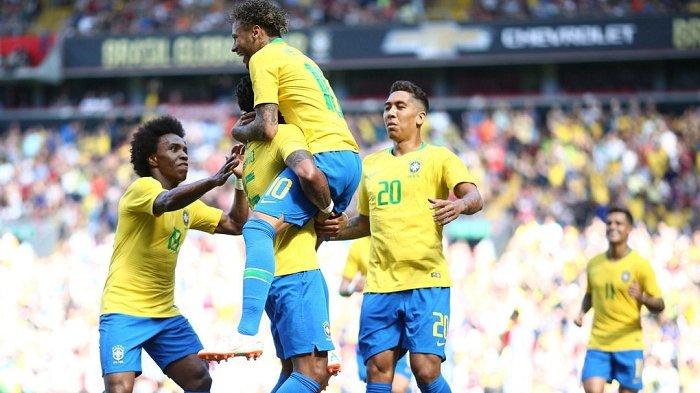 BERLANGSUNG! Link Live Streaming Brasil vs Senegal Brasil Global Tour 2019 di TV One, Live TVone