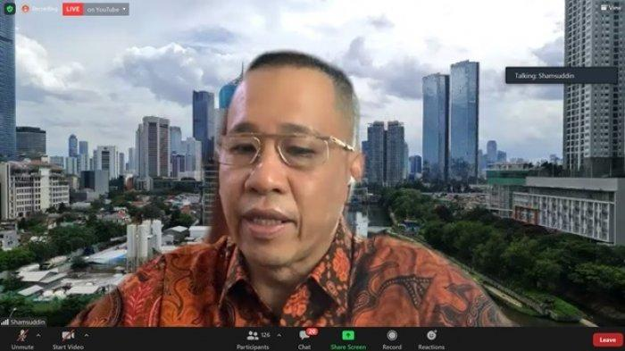 CEO Minamas Plantation – Bpk.Shamsuddin Muhammad memberikan opening speech