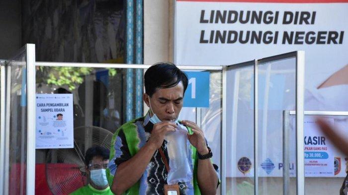 Layanan GeNose di Pelabuhan Trisakti Banjarmasin, Permudah Petugas Deteksi Covid-19
