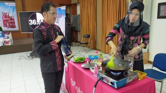 Populerkan Selada Banjar, Agus Sasirangan Jadikan Menu Banjar Ini Challenge di Dapoer Everywhere