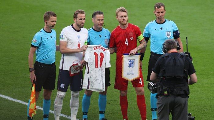 Skor Inggris vs Denmark 0-0! Link Streaming Euro Live RCTI & TV Online Mola TV di Sini