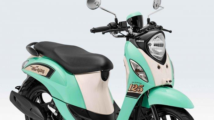 Awal Tahun 2021, Yamaha Fino 125 Sporty Tampil dengan Warna Baru