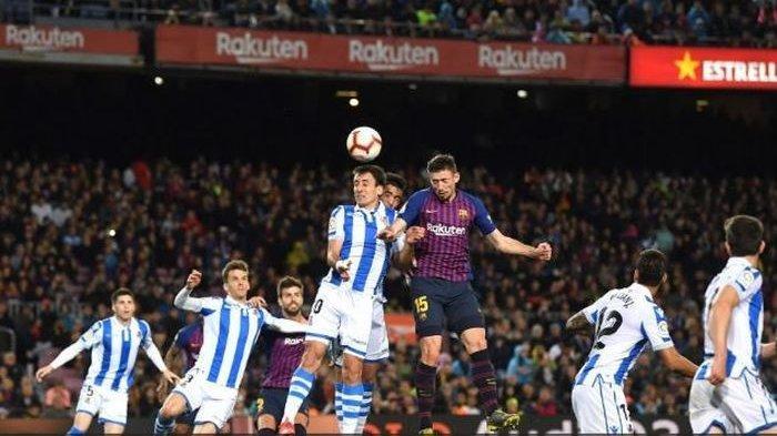 Rekor Buruk Kala Bertandang ke Markas Sociedad, Lionel Messi Tak Bisa 'Selamatkan' Barcelona