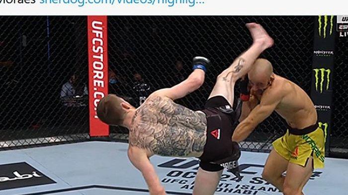 Hasil UFC Vegas 16 - Marvin Vettori Kalahkan Jack Hermansson