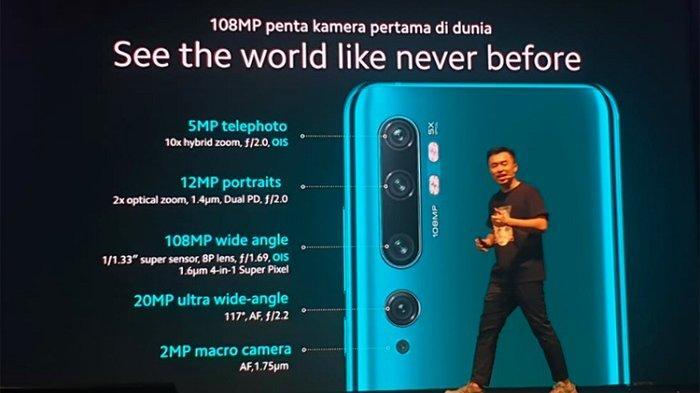 Resmi Masuk Indonesia, Ini Harga Xiaomi Mi Note 10 Pro
