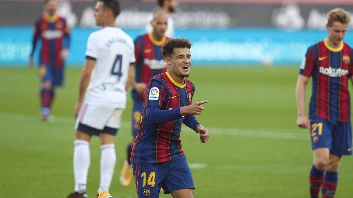 Bursa Transfer Barcelona : Coutinho Segera Dilego, Eks Liverpool Jadi 'Beban' Klub Selama Semusim