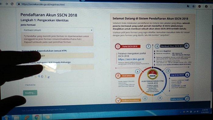 Cara Atasi Gagal Login, Sulit Cetak Kartu & Registrasi di Link sscn.bkn.go.id, Pendaftaran CPNS 2018