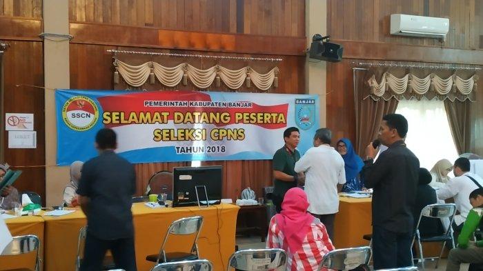 Sebanyak 22 Formasi CPNS untuk Lingkup Pemkab Banjar Kalsel Lowong