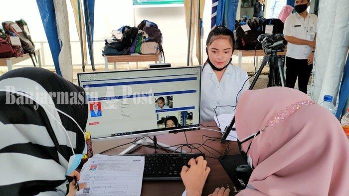 CPNS Kalsel 2021 - Empat Orang Absen Tes SKD di Kabupaten HSS, Ini Peserta Nilai Tertinggi