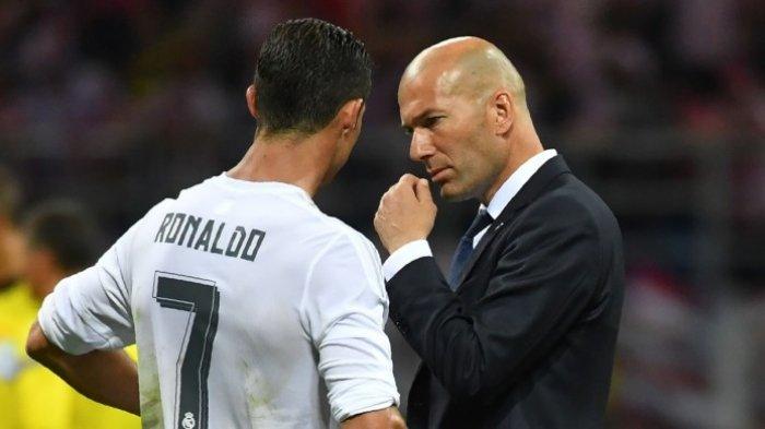 Pernyataan Pertama Zinedine Zidane Soal Cristiano Ronaldo Usai Resmi Jadi Pelatih Real Madrid