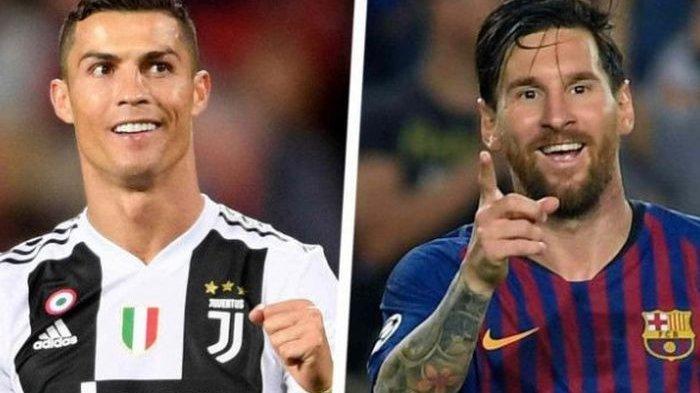 Cristiano Ronaldo & Lionel Messi Dikarantina Terkait Virus Corona, Ini yang Dilakukan Dua Rival Itu