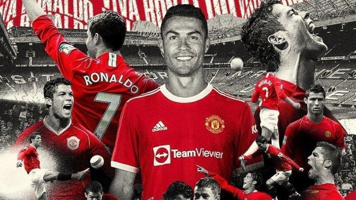Cristiano Ronaldo sudah diperkenalkan secara resmi oleh Manchester United sebagai pemain baru di musim 2021/2022 Selasa (31/8/2021).