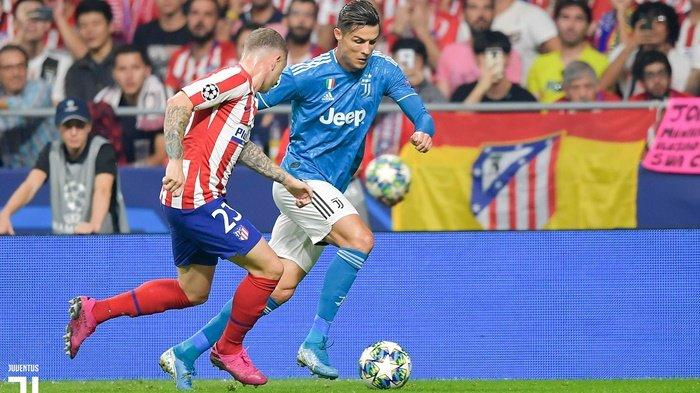 Hasil Liga Champions Juventus Vs Atletico Madrid, Drama 4 Gol, Cristiano Ronaldo Gagal Cetak Gol