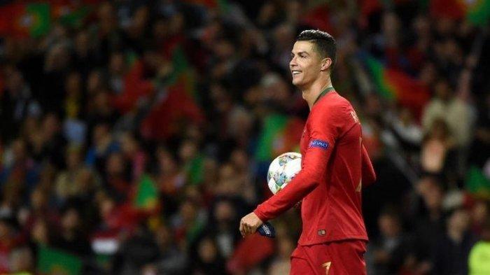 Portugal vs Andorra, Modal Baik & Buruk Ronaldo Pecahkan Rekor Gol Timnas Live Mola TV Malam Ini