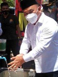 Kasus Covid-19 di Kalteng Terus Bertambah, Gubernur Sugianto Minta Warga Disiplin Prokes