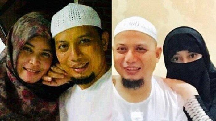 Curhat Istri Kedua Ustadz Arifin Ilham Soal Menjaga Suami yang Sakit dengan Istri Pertama