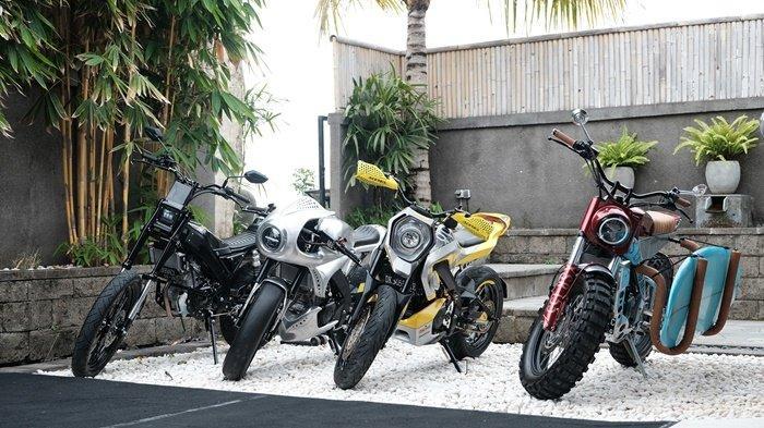 Custom XSR 155 garapan builder Yard Built Indonesia di Bali