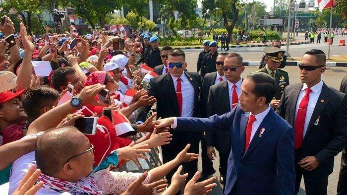 Daftar Resmi Susunan Kabinet Jokowi Jilid II, Nama Menteri Bisa Pantau Via Live Streaming Kompas TV