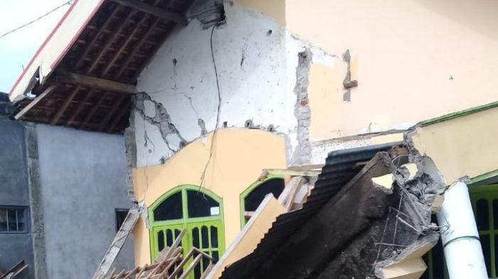 Dampak Gempa Bermagnitudo 6,7 di Malang,  1.189 Unit Rumah Rusak