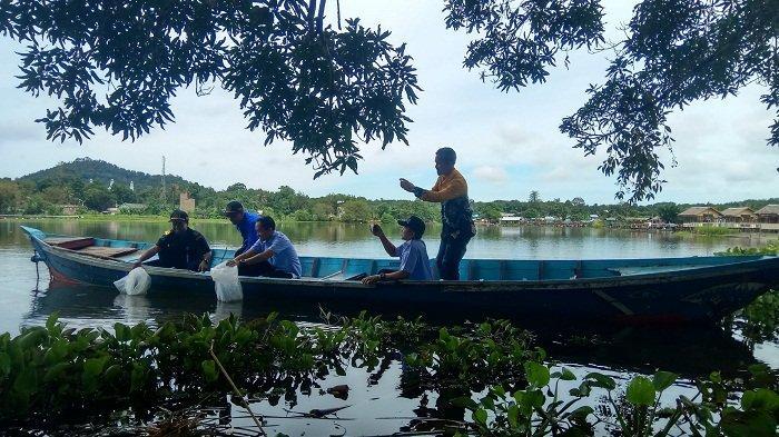 Sosialisasi Kampung Hijau di Danau Tamiyang, Dinas LH Tanam Pohon di 73 Titik