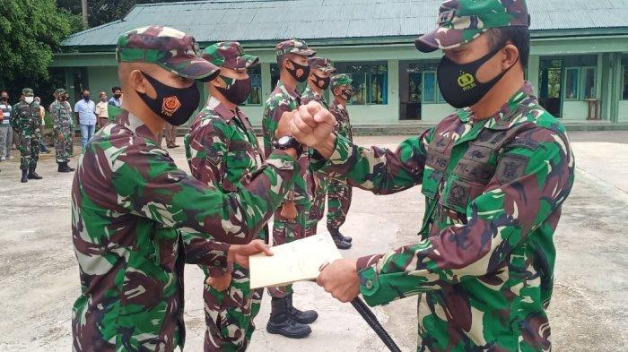 Lepas Empat Bintara Remaja ke Satuan Baru, ini Pesan Dandim 1002/HST