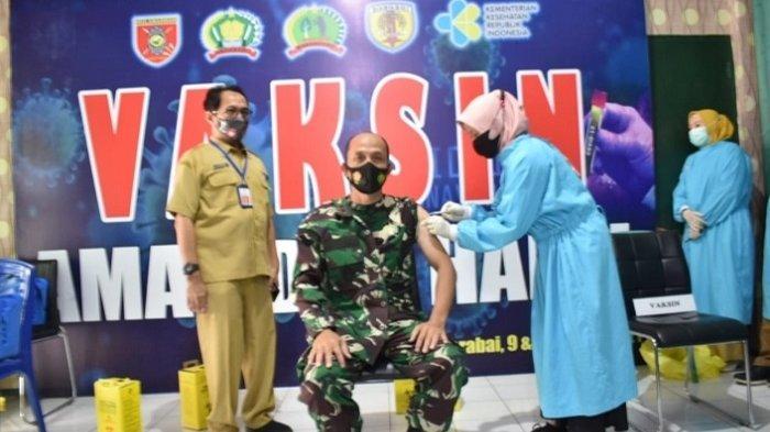 577 Personel Kodim Barabai dan Bataliyon 621 Manuntung Divaksin Covid-19