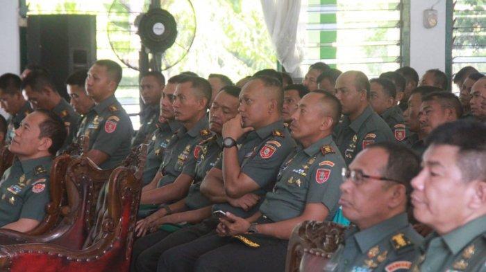 Tujuannya ini, Mayjen TNI Bakti Agus Memberikan Materi dan Evaluasi 400 Orang Prajurit Babinsa