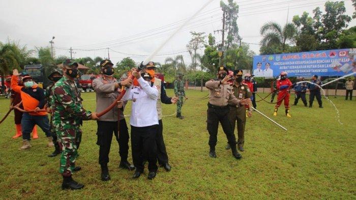 Kabupaten Banjar Apel Siaga Hadapi Bencana Karthula dan Kabut Asap