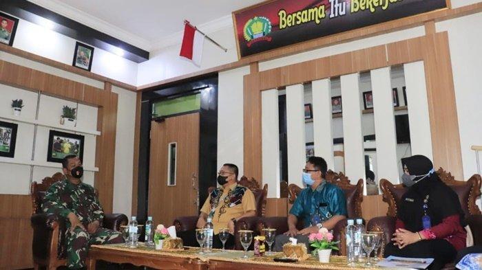 Perangi Narkoba, Kepala BNN Banjarbau Kunjungi Kodim 1006/Martapura
