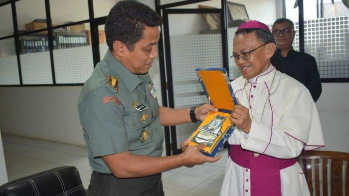 Wujudkan Suasana Kondusif dan Seimbang, Dandim 1007 Banjarmasin Kunjungi Tokoh Agama ini