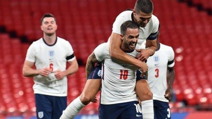 HASIL Inggris Vs Wales Laga Persahabatan, Gol Debut Calvert-Lewin Warnai Pesta The Three Lions