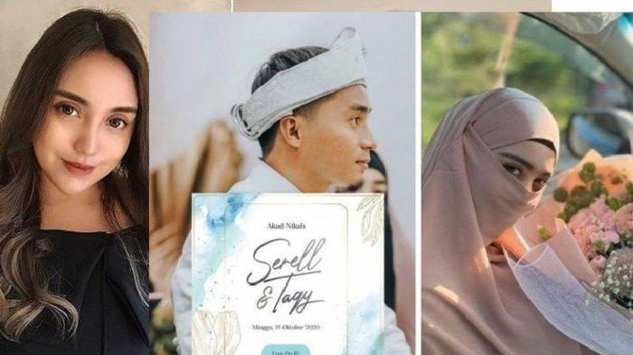 Respons Salmafina Buntut Kabar Pernikahan Taqy Malik & Serell, Anak Sunan Kalijaga : Beban ilang