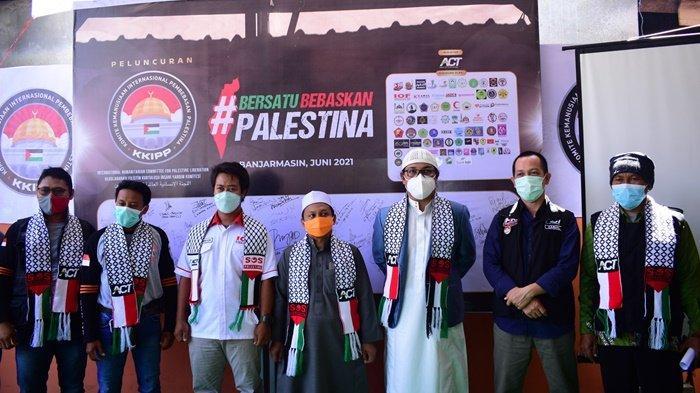 Kalselpedia - Gerakan Komite Kemanusiaan Internasional Pembebasan Palestina Miliki 3 Sasaran