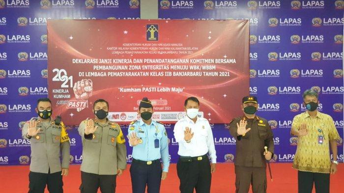 Usai Deklarasi Janji Kinerja, Lapas Banjarbaru Ajak CPNS Razia Hunian WBP, Hasilnya Ditemukan ini