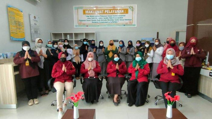 Kantor BPN Tanahlaut Siap Wujudkan Karyawati Tangguh Layani Masyarakat