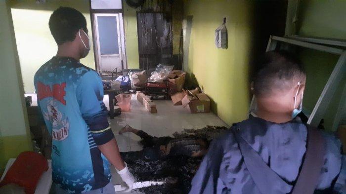 Polisi Temukan Benda ini di Lokasi Tewasnya Pria Paruh Baya di Bangunan Kosong di Banjarmsin