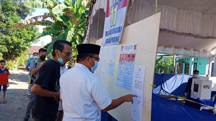 PSU Pilgub Kalsel 2020, Denny Indrayana Tinjau Dua TPS di Sungai Paring Martapura