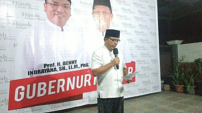 Hasil Pilgub Kalsel Tipis, Denny Indrayana Ajak Timnya Bersiap Hadapi Gugatan di MK