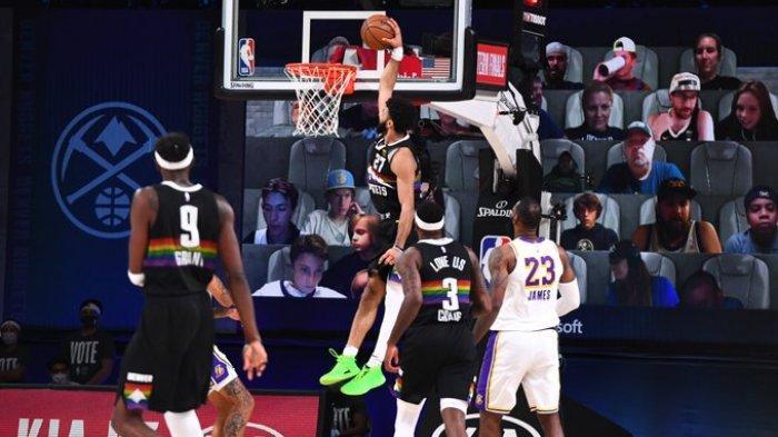 Game Denver Nugets vs LA Lakers.