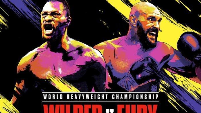 Jadwal Live Streaming Deontay Wilder vs Tyson Fury, Siaran Langsung Tinju Dunia di ESPN, Fox Sports